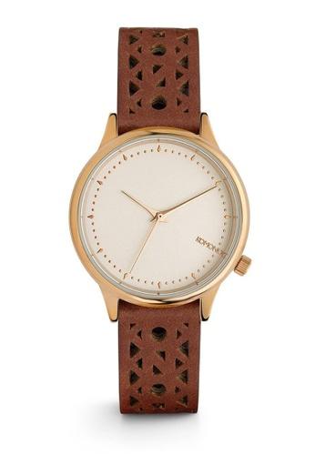 KOMONO brown Estelle Cutout Cognac Watch KO163AC0T0TDMY_1
