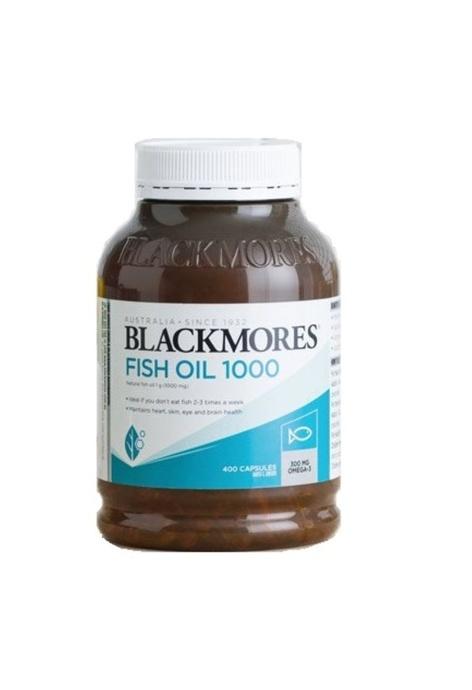 BLACKMORES BLACKMORES - 1000mg魚油丸 400粒 (平行進口)