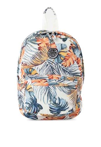 Rip Curl white Sayulita 18L Canvas Backpack 3742BAC9DF7F81GS_1