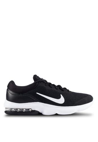 Nike black Men's Nike Air Max Advantage Running Shoes NI126SH0RJJ9MY_1
