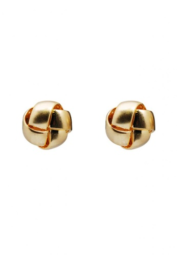 SKEDA gold Wendy Windmill Ear Studs 27079AC0AC4A03GS_1