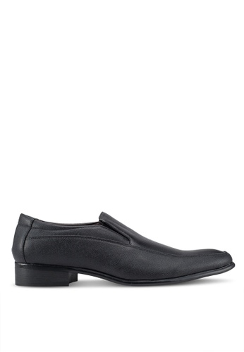 Rocklander black Formal Slip On Shoes E5E5DSH162CAA2GS_1