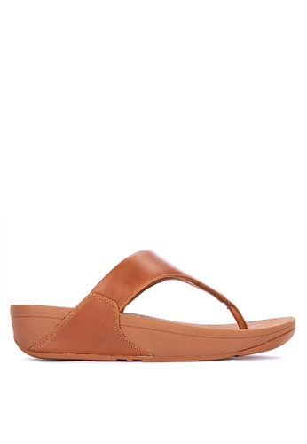 c5d406b500b5a9 Shop Fitflop Lulu Leather Toe Post Sandals Online on ZALORA Philippines