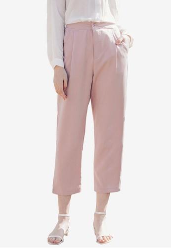 Kodz pink Tailored Trousers 4861BAA9AE865CGS_1