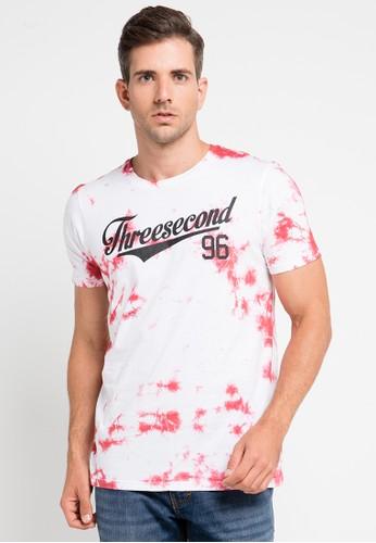 3SECOND white 3Sco Tshirt 9510 3S395AA0UTZUID_1