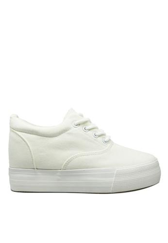 Twenty Eight Shoes white Hidden Heel Platform Shoes TW446SH86YXLHK_1