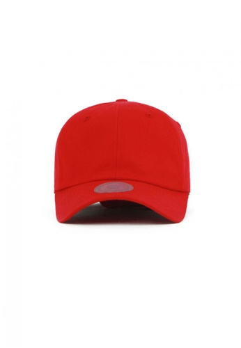 M-Wanted red M. Ring X Long Tail Baseball Cap MW173AC53MKOSG_1