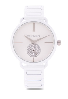 a154c84d0fe39 MICHAEL KORS white Portia Analog Watch Mk3911 9F753AC15346ADGS 1