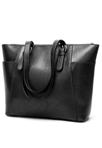 Lara black Women Synthetic Shoulder Bag 31407AC7045ADFGS_1