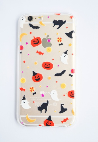 Fancy Cellphone Cases multi Halloween Theme Soft Transparent Case for iPhone 6 FA644AC97AFYPH_1