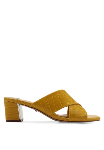 17a7aa02fe Shop Violeta by MANGO Criss-Cross Straps Sandals Online on ZALORA  Philippines