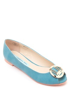 Nabi Open Toe Flats