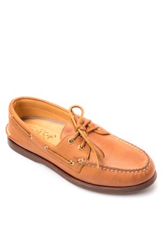 Gold A/O 2-Eye Boat Shoes