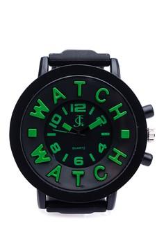 Round Analog Watch u-jc-f-1535