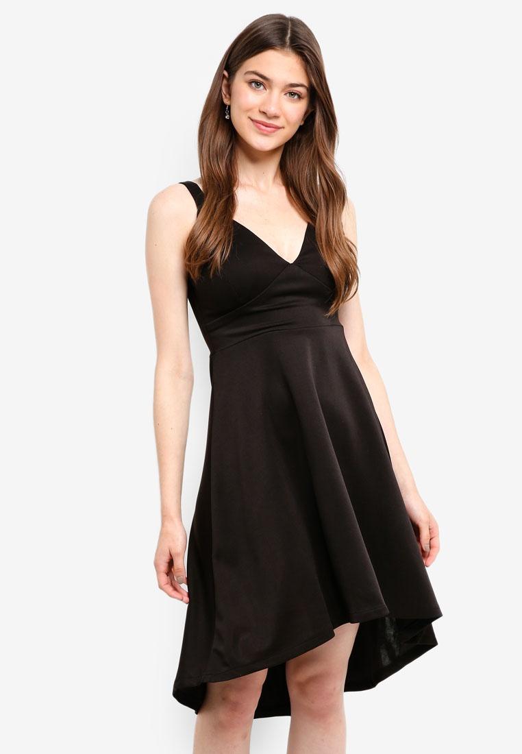 Mela High Dress Low Structured London Black qrPtrxwf