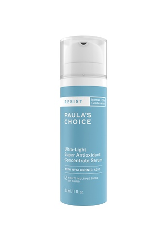Paula's Choice blue Resist Ultra-Light Super Antioxidant Concentrate Serum with Hyaluronic Acid FA441BE268E8F1GS_1