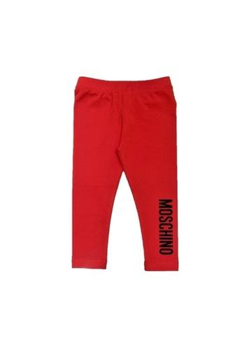 MOSCHINO BABY KID TEEN red MOSCHINO BABY LEGGINGS EA8CEKA1B83225GS_1