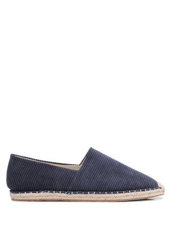 ZALORA multi and navy Essential Corduroy Espadrilles D76F9SH16F278EGS_1
