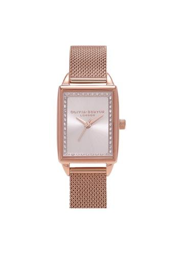 Olivia Burton gold Olivia Burton Classics Rose Gold  Women's  Watch (OB16SS37) 510BDACA2EEB3AGS_1