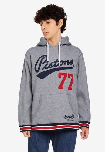 Superdry 灰色 Collegiate Hoodie - Original & Vintage C8930AA410171AGS_1