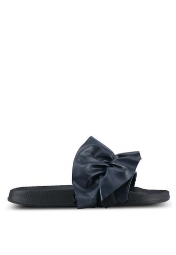 Rubi navy Wild Slide Sandals RU506SH0SKU1MY_1