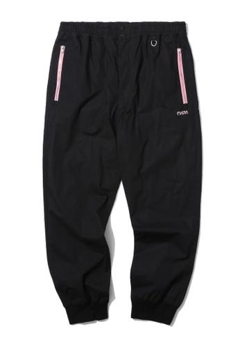 Fivecm black Zip pocket joggers 06C83AA3EEF6DAGS_1