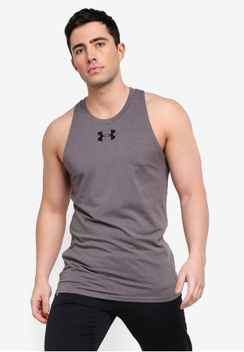 801ac2b3526281 Buy Under Armour UA Baseline Cotton Tank Top Online on ZALORA Singapore
