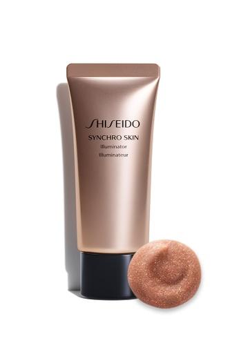 Shiseido gold Shiseido Makeup Synchro Skin Illuminator, Rose Gold 1D96EBE05BDB61GS_1