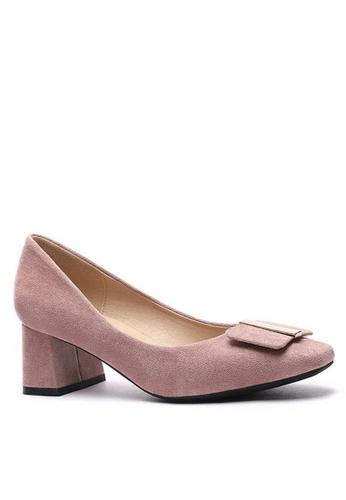 Twenty Eight Shoes Square Buckle Pumps 1270-44 CBF53SH0973A1EGS_1