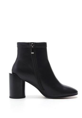 Sunnydaysweety black F/W Temperament New Zipper Black Ankle Boots CA010202 4E759SHDFEC0BAGS_1