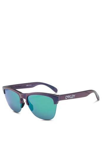 Oakley 多色 透明框方框太陽眼鏡 3FD69GL46DDBC9GS_1