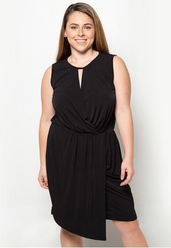 Lulu black Anjo Plus Size Dress LU439AA44NILPH_1