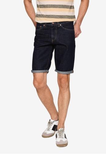 Electro Denim Lab blue Denim Shorts 8A566AAB060B46GS_1