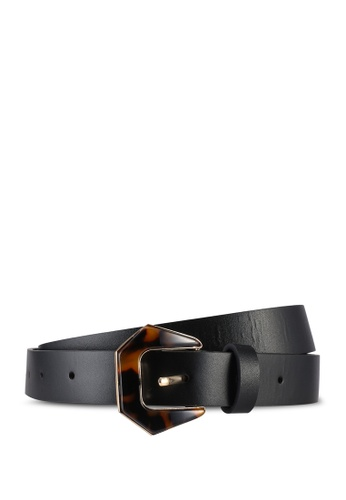 niko and ... black Accent Leather Belt B661AACB8D6F1AGS_1