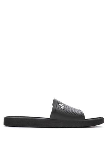 Sanuk black Beachwalker Slides C0E71SH0E0E35FGS_1