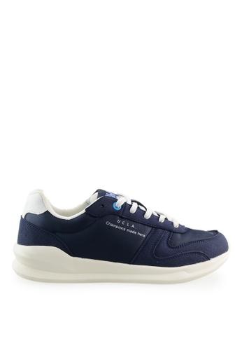 Footspot blue UCLA Lace-up Sneakers BD8CCSHF6D0F8CGS_1