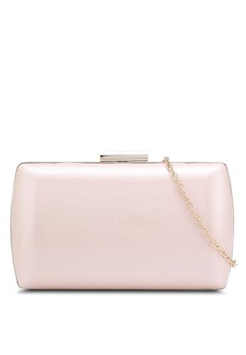 Papillon Clutch pink Glossy Clutch PA491AC0RF04MY_1