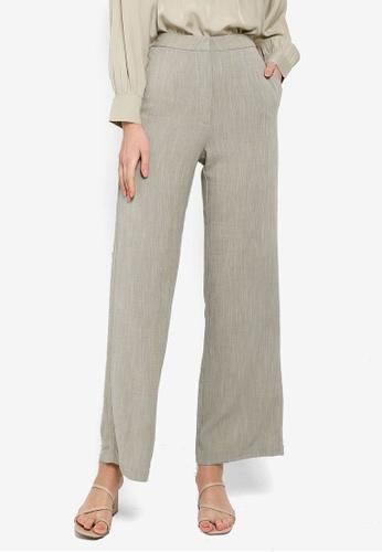 Soonaru green Sage Green Pants 473F3AAC48AC34GS_1