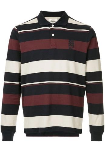 eb766ea3f Buy Kent and Curwen Striped Logo Polo Shirt Online on ZALORA Singapore