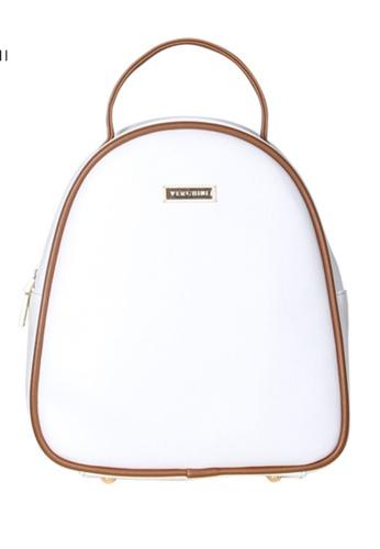 Verchini white Verchini Dome Backpack 42C95AC7C9BEE5GS_1