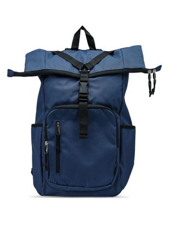 niko and ... blue Roll Top Backpack 89609AC1803320GS_1