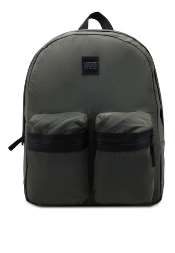 VANS green Double Down Backpack 25A47ACE0E57CBGS_1