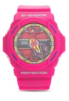 181378d7b92b Casio pink G-SHOCK Watch GA-310-4A CA076AC06CHXPH 1
