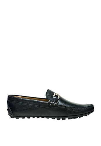 Sebago black Mens Trave Driving Shoes SE328SH10KURPH_1