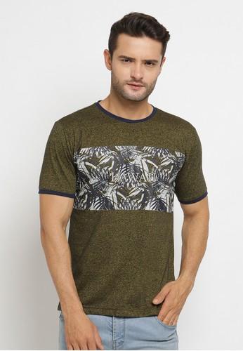 Poshboy green Poshboy Tshirt Cross OF-6KL-XCY 7554EAA8E1958FGS_1