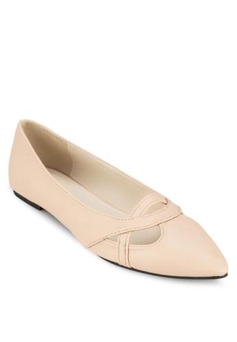 Rosline 鏤空尖頭平底鞋, 女鞋, 芭蕾平zalora taiwan 時尚購物網底鞋