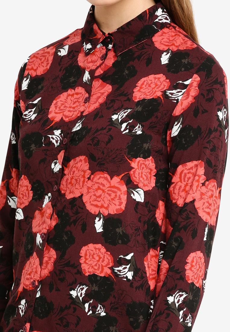 ICHI Shirt ICHI Fudge Print Vera Vera FUOnB