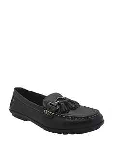 0608c2654e46 Hush Puppies Hush Puppies Aidi Tassel Mocc In Black S  129.00. Sizes 5 6 7  8 9