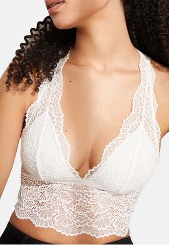 Women'Secret white White Lace Halter Bra Top 0D8B7US71A9624GS_1