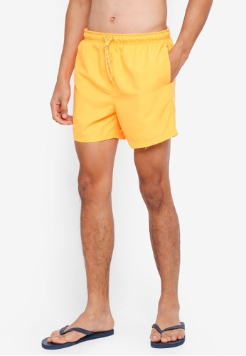 threads by the produce orange Swim Shorts AF693AAC5F4123GS_1